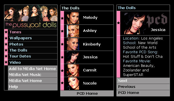 Pussycat Dolls Official Website 72