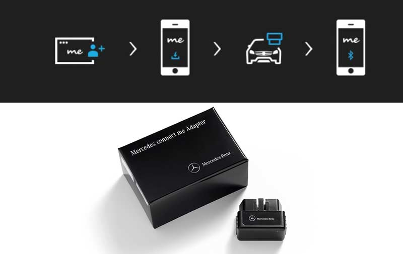 Mercedes connect me adapter the official website of sean for Mercedes benz com connect